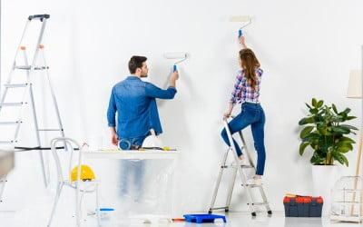 ¿Cómo agrandar las estancias de tu casa con la pintura?