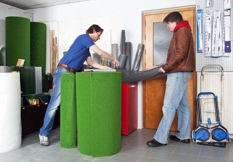 ¿Cómo instalar césped artificial?