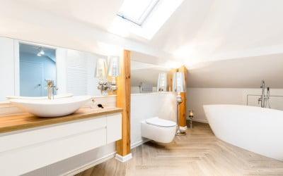 ¿Cuáles son los mejores azulejos para un baño moderno?
