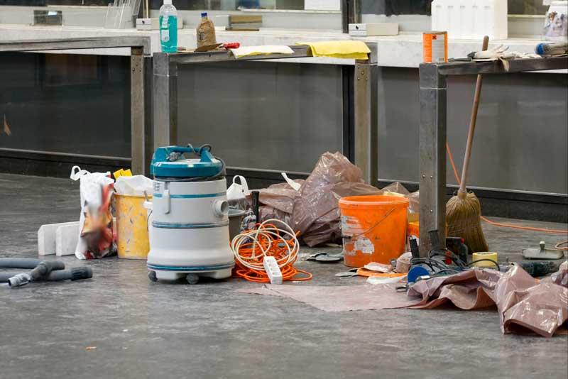 ¿Cómo es la limpieza final de una obra nueva o de una reforma?