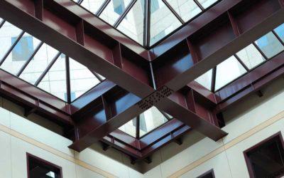 Com protegir estructures metàl·liques de foc? Usa pintura intumescent