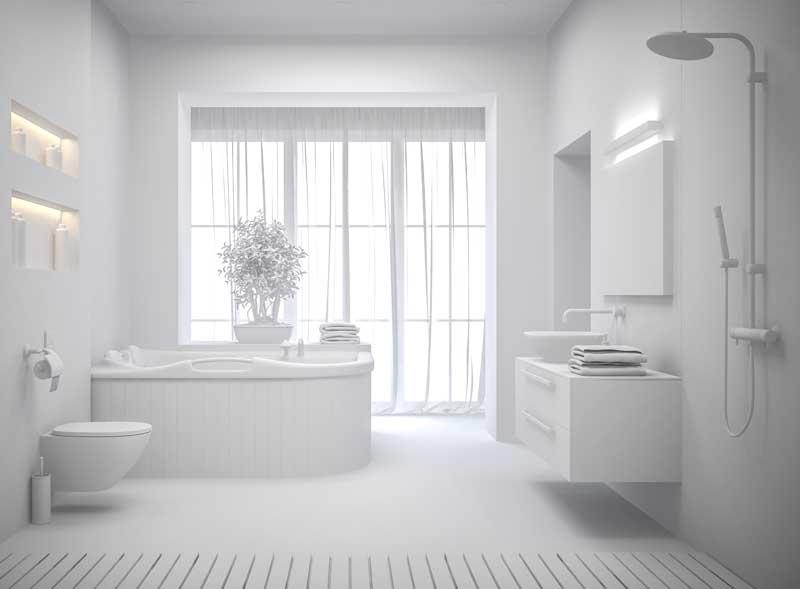 luz cuarto de baño