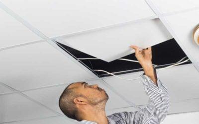 ¿Cómo podemos colocar pladur en el techo?